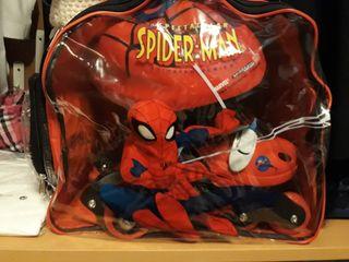 patines spiderman 1 solo uso
