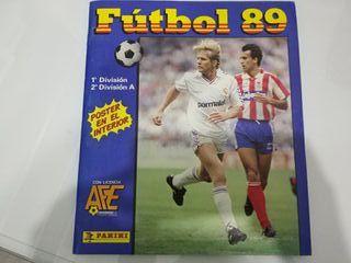 Álbum cromos liga 1989