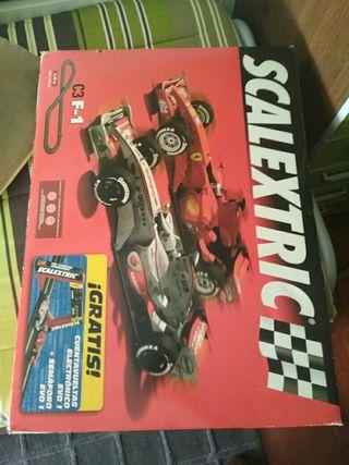 Circuito Scalextric C3 F-1
