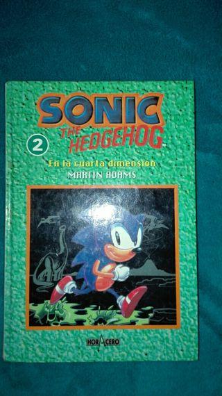 novela Sonic en la cuarta dimensión