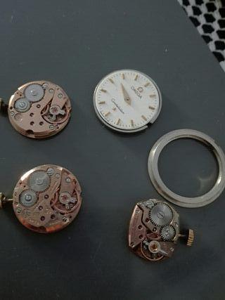 Maquinarias relojes Omega