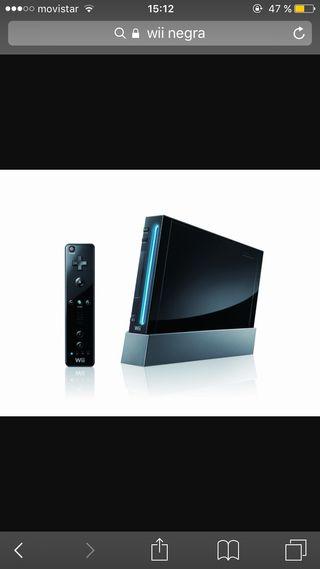 Wii negra