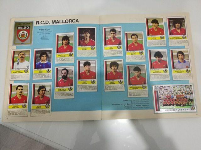 álbum cromos liga 1987