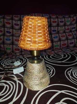 Lámpara rústica, vintage