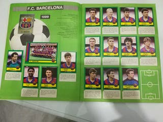 Álbum cromos liga 1990