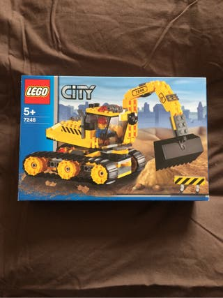 Lego excavadora