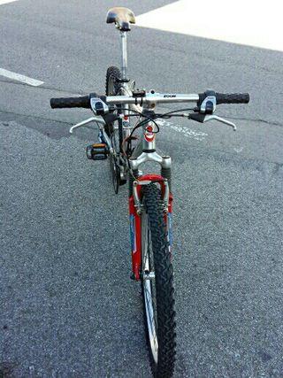 se vende bicicleta de aluminio 80€