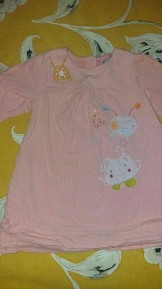 lote de vestidos bebe