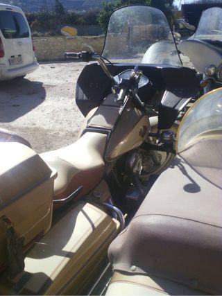 Harley con Sidecar