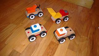 coches de madera ikea