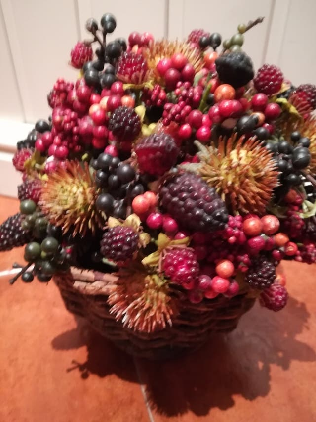 Cesto frutas