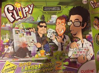 Laboratorio experimentos Flipy