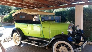 Ford A Doble Phaeton