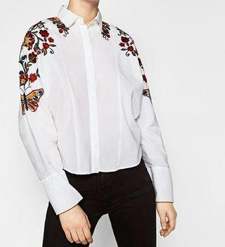 b856cce72 Zara Mujer Por Camisa 12 Etxano Wallapop De € Segunda Mano En OiuXwkZPT
