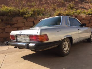 Mercedes-benz 450 SLC W107 1979