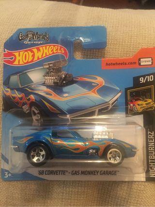 Hot wheels Gas monkey garage corvette 68