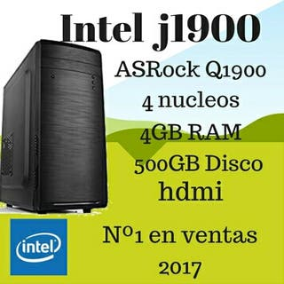 Ordenador PC Intel QuadCore 4GB RAM 500GB HDMI