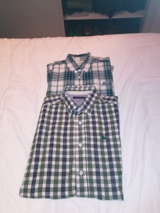 2 Camisas marca Scalpers t38