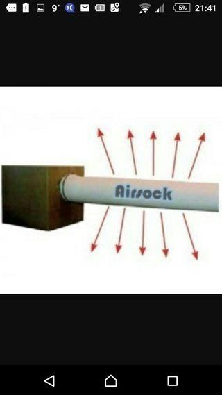 air sock difusor de aire cultivo interior grow