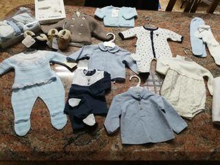 Pack bebé 0-3 meses niño