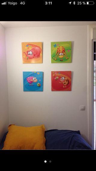 Cuadros para habitacion infant