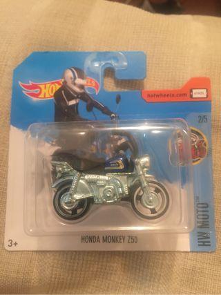 Hot wheels Honda monkey z50 nuevo