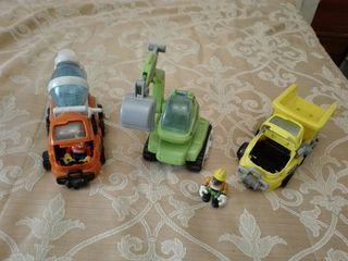 Equipo de construccion de juguete