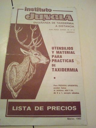panfleto publicidad antiguo