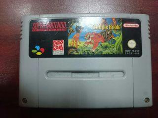 juego super nintendo the jungle book