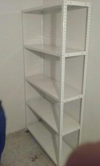 estantería aluminio
