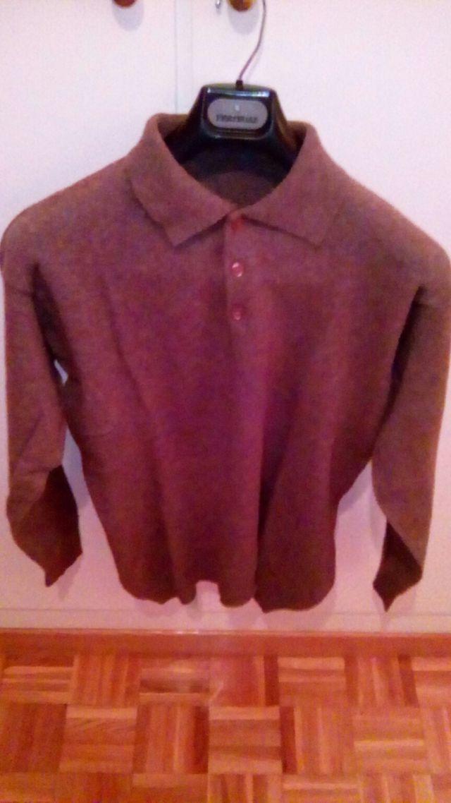 Jersey lana Massimo Dutti hombre T. L