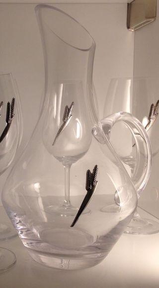 Cristaleria italiana de lujo