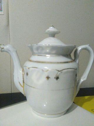 Cafetera porcelana francesa