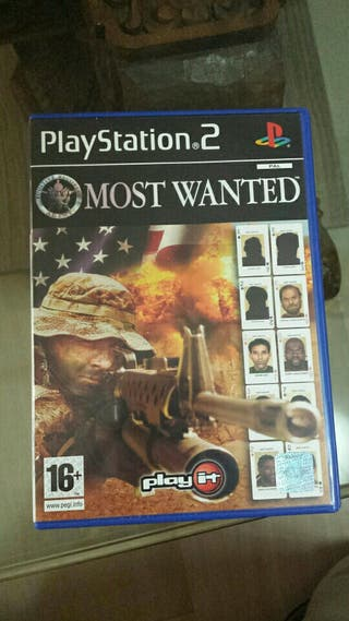 America's Most Wanted PS2