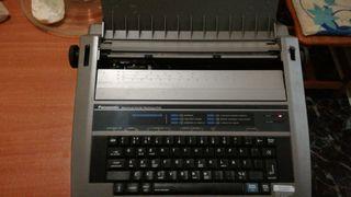 maquina escribir electronica panasonic