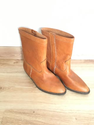 Botas de piel nuevas 36,5 talla