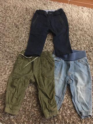 Pantalones niño talla 74cm