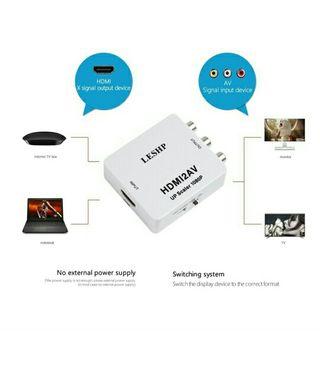 HDMI alta definición a AV Rca