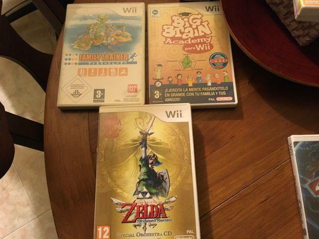 Wii juegos precio unitario