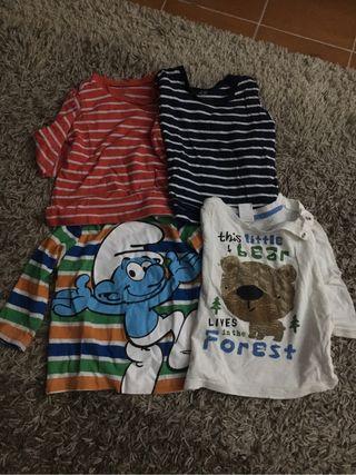 Camiseta bebe h&m