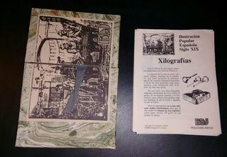 Postales - Xilografias Ilustracion Popular S. XIX