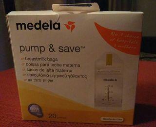 Bolsas para congelar leche materna