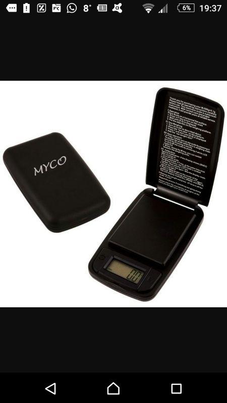 Báscula digital balanza myco mj - 500 grow shop