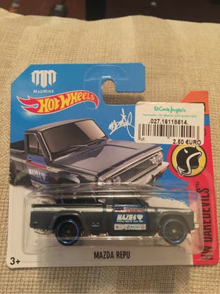 Hot wheels Mazda repu (mad mike)