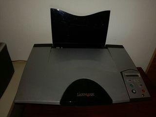 impresora lexma solo dos uso