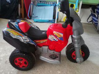 moto quad de bateria