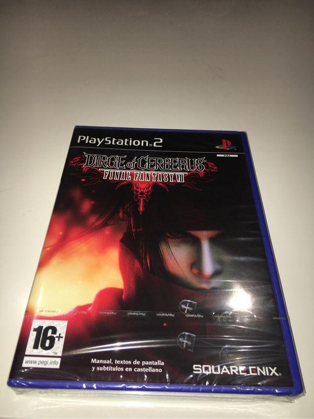 Final Fantasy VII Dirge of Cerberus PS2 nuevo ESPA