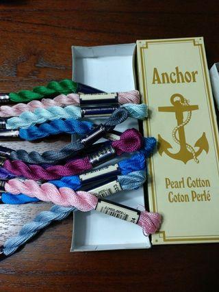 madejas de perle Anchor