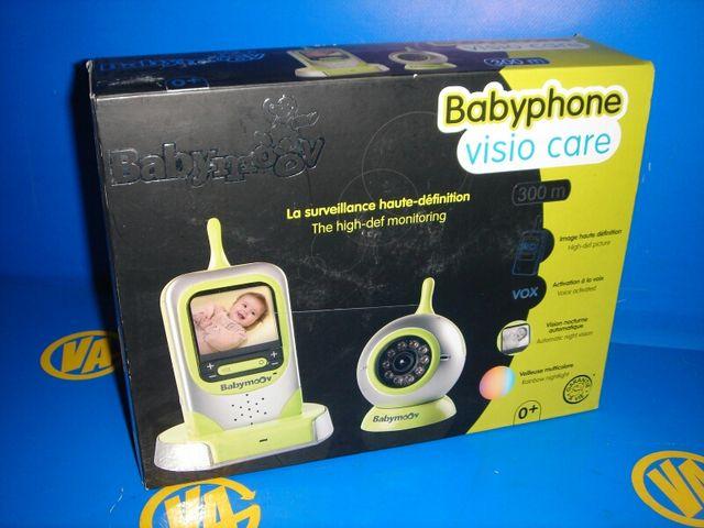 Bebe BABYPHONE cámara graba en noche y sonido