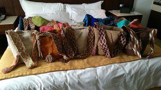 Bolsos Wayuu. Varios modelos. Hecho en Colombia